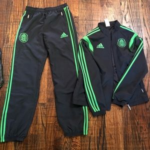 Adidas Mexico warm up gear